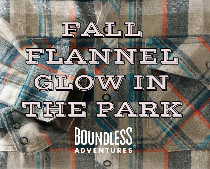 Fall Flannel Glow in the Park